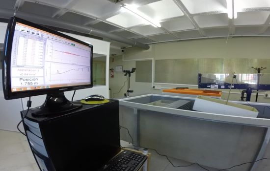 Laboratorio de hidrodinámica